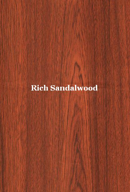 rich sandalwood laminate