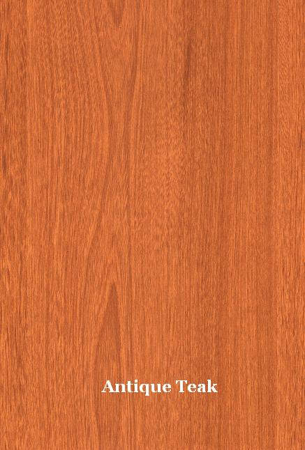 antique teak laminate