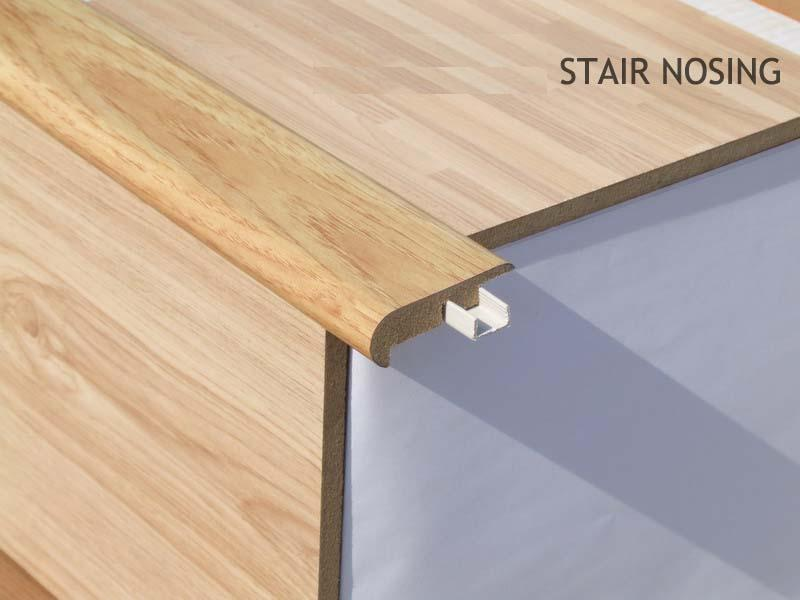 Engineered Hardwood Hardwood Stair Nosing