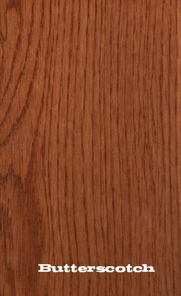 red oak white oak butterscotch