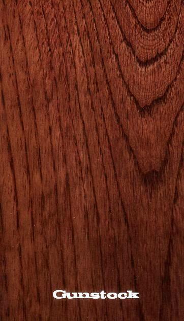 red oak white oak gunstock